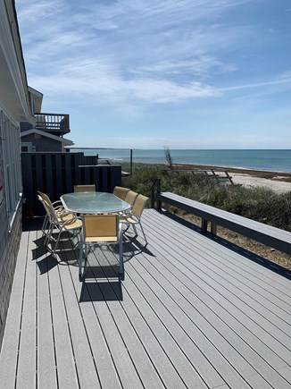 Orleans Cape Cod vacation rental - Dine on your New Trex Deck with Bayside Views