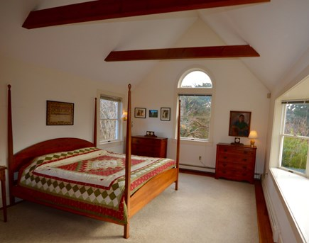Orleans Cape Cod vacation rental - Queen bed with vaulted ceiling
