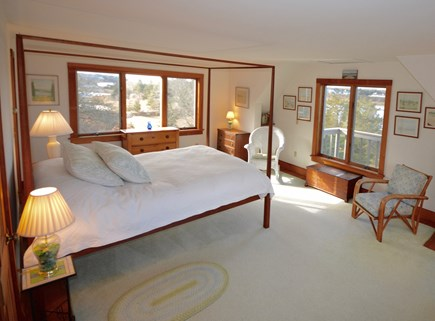 Orleans Cape Cod vacation rental - Master Bedroom Queen - Water views from 3 sides