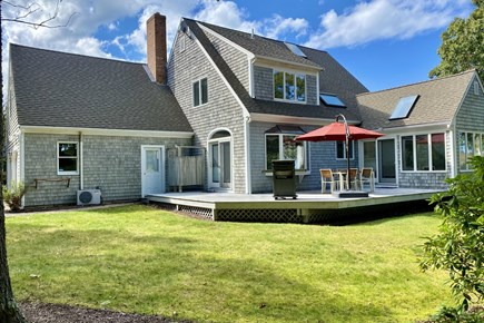 Brewster Cape Cod vacation rental - Spacious outdoor area with lots of privacy