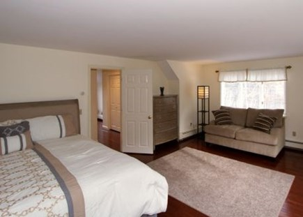 Brewster Cape Cod vacation rental - Large master bedroom with sitting area