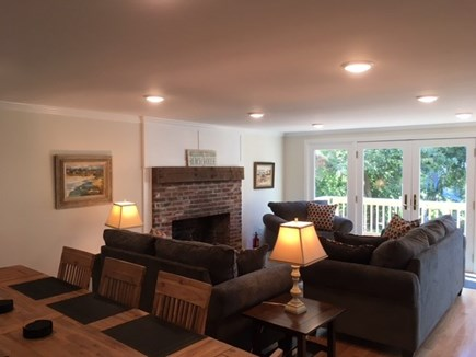 Chatham Cape Cod vacation rental - Open concept dining room and living room