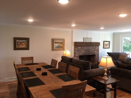 Chatham Cape Cod vacation rental - Open concept dining to living