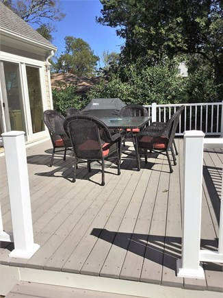 Harwich/Long Pond Cape Cod vacation rental - Deck in between Picture Perfect and Guest House
