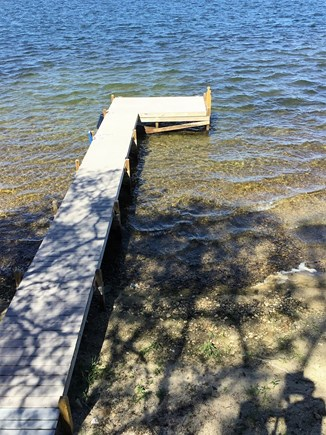 Harwich/Long Pond Cape Cod vacation rental - 40-foot Boat Dock