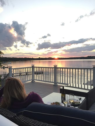 Harwich/Long Pond Cape Cod vacation rental - Spectacular Sunsets