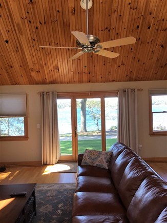 Harwich/Long Pond Cape Cod vacation rental - Wonderfully Inviting Family Room with view of Long Pond