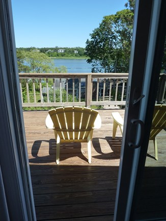 Eastham Cape Cod vacation rental - 3 floor loft seating area with attached deck