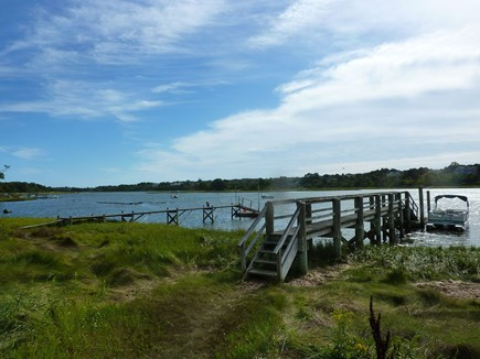 Eastham Cape Cod vacation rental - Private dock on Eastham's beautiful Town Cove - salt water and