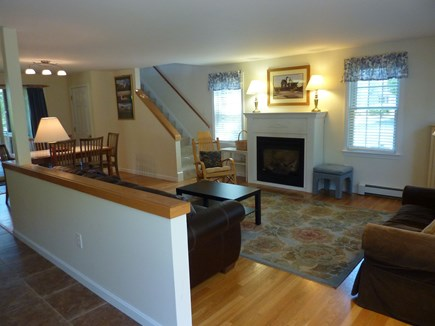 Eastham Cape Cod vacation rental - Downstairs Living room area