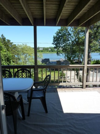 Eastham Cape Cod vacation rental - 2nd Floor deck and view from 2nd floor living room