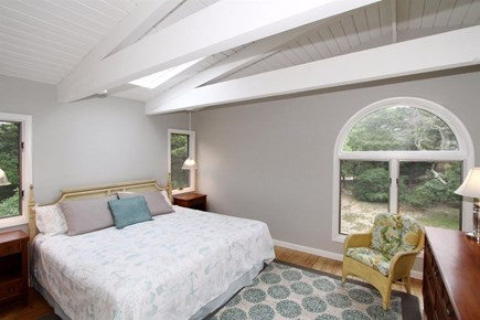 Eastham Cape Cod vacation rental - Master bedroom on its own level