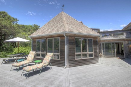 Eastham Cape Cod vacation rental - Wraparound deck