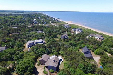 Eastham Cape Cod vacation rental - Another aerial view