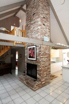 Eastham Cape Cod vacation rental - Open, working fireplace