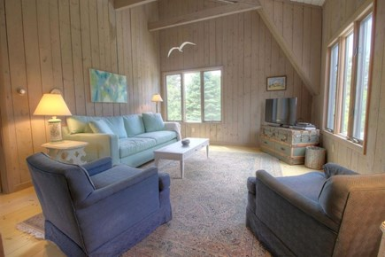 Eastham Cape Cod vacation rental - Family room on second level/other wing