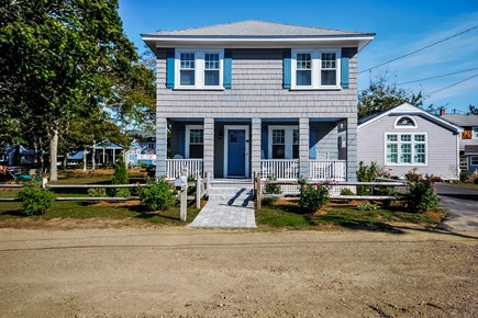 Falmouth Heights Cape Cod vacation rental - Street view of house with carriage house