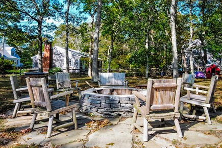 Falmouth Heights Cape Cod vacation rental - Fire pit to relax in the evenings
