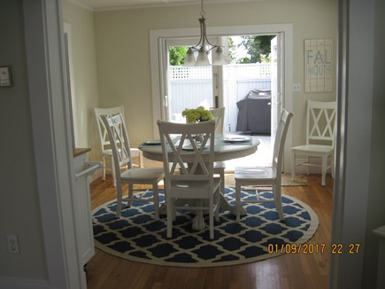 Falmouth Heights Cape Cod vacation rental - Sun filled dining room