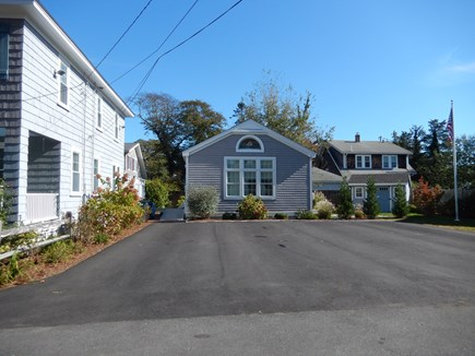 Falmouth Heights Cape Cod vacation rental - Front of the Carriage house with attached ramp