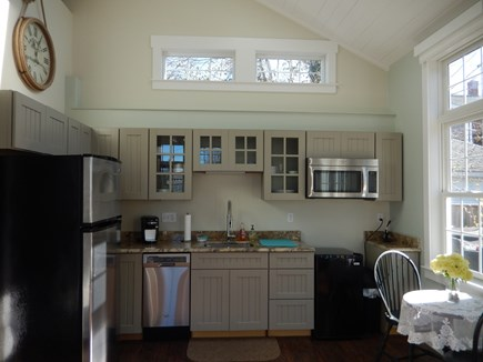 Falmouth Heights Cape Cod vacation rental - Carriage house kitchen with tons of sunlight
