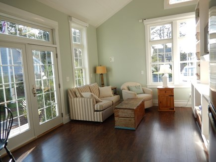 Falmouth Heights Cape Cod vacation rental - Carriage house with open spacious living area and flat screen TV