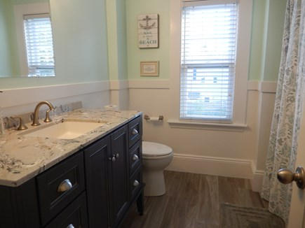 Falmouth Heights Cape Cod vacation rental - Upstairs bathroom in main house