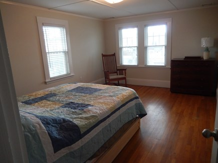 Falmouth Heights Cape Cod vacation rental - Bedroom on second floor with queen bed and lots of sunlight