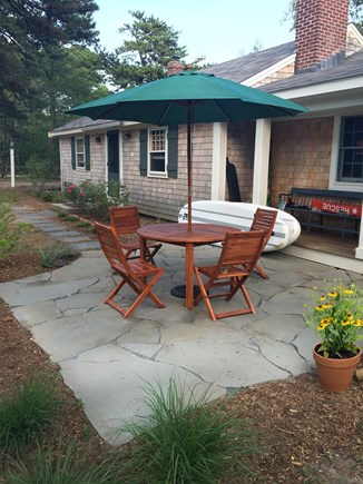 Eastham Cape Cod vacation rental - New stone patio and furniture