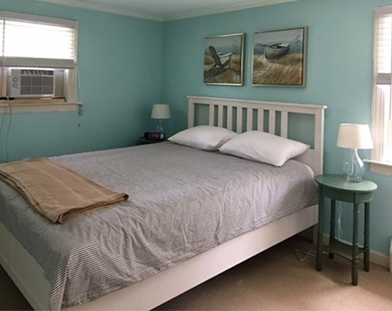 Eastham Cape Cod vacation rental - 2nd bedroom with queen bed and a/c
