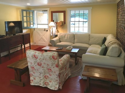 Eastham Cape Cod vacation rental - Freshly updated family room