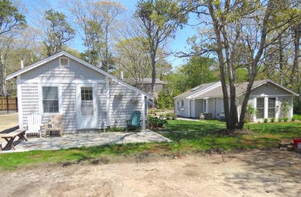 Brewster Cape Cod vacation rental - Main house on right, bunk house on left