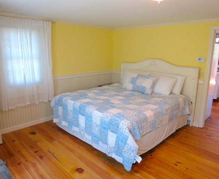 Brewster Cape Cod vacation rental - Main house master bedroom w/king size bed and flat screen TV