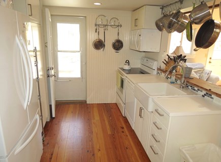 Brewster Cape Cod vacation rental - Kitchen in the main house
