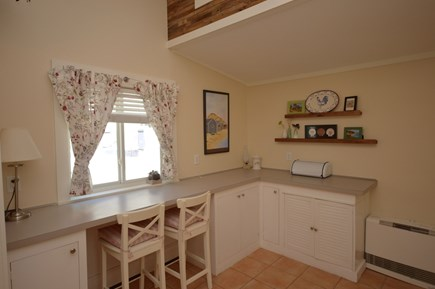 Orleans Cape Cod vacation rental - Breakfast nook- seating for 3 in kitchen