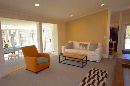 Orleans Cape Cod vacation rental - View of floor to ceiling windows off the living room