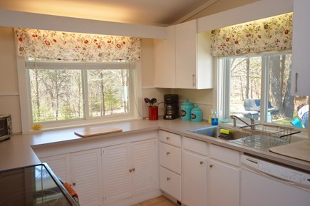 Orleans Cape Cod vacation rental - Full kitchen with stove/ microwave/ fridge/ toaster