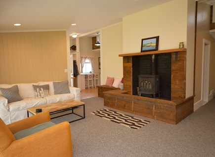 Orleans Cape Cod vacation rental - Wood Stove in living room