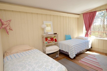 Orleans Cape Cod vacation rental - Two twins, AC and lots of light. Access to Deck