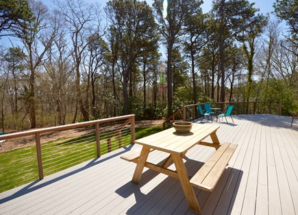 Orleans Cape Cod vacation rental - Brand new deck- additional outdoor seating