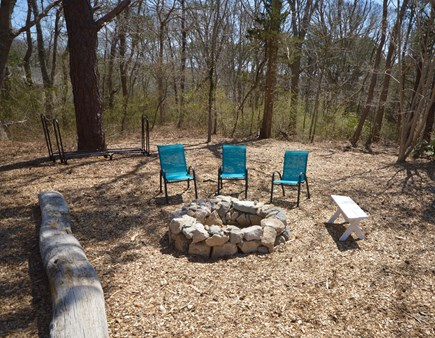Orleans Cape Cod vacation rental - Awesome fire pit for enjoyment