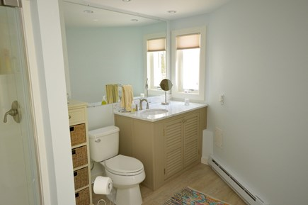 Orleans Cape Cod vacation rental - Master en suite bathroom- Stand up shower