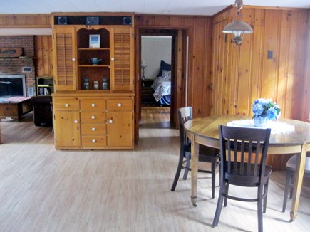 North Eastham Cape Cod vacation rental - Dining room with seating for 8 and foyer area