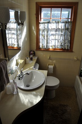 North Eastham Cape Cod vacation rental - Bathroom #1 with tub