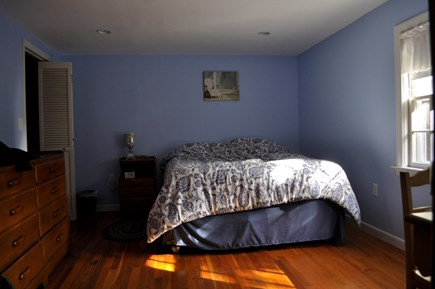 North Eastham Cape Cod vacation rental - Master bedroom w/Queen - bureau and plenty of closet space