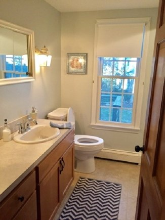 East Dennis /Scargo Hill Cape Cod vacation rental - First floor bath and laundry room