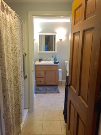 East Dennis /Scargo Hill Cape Cod vacation rental - First floor bath and shower