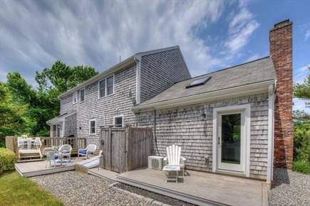 West Barnstable Cape Cod vacation rental - Deck and Outside shower