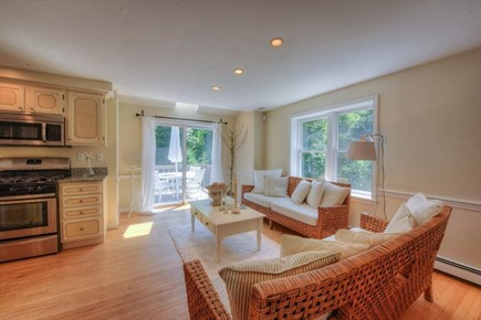 West Barnstable Cape Cod vacation rental - Living room