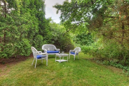 West Barnstable Cape Cod vacation rental - Back Yard